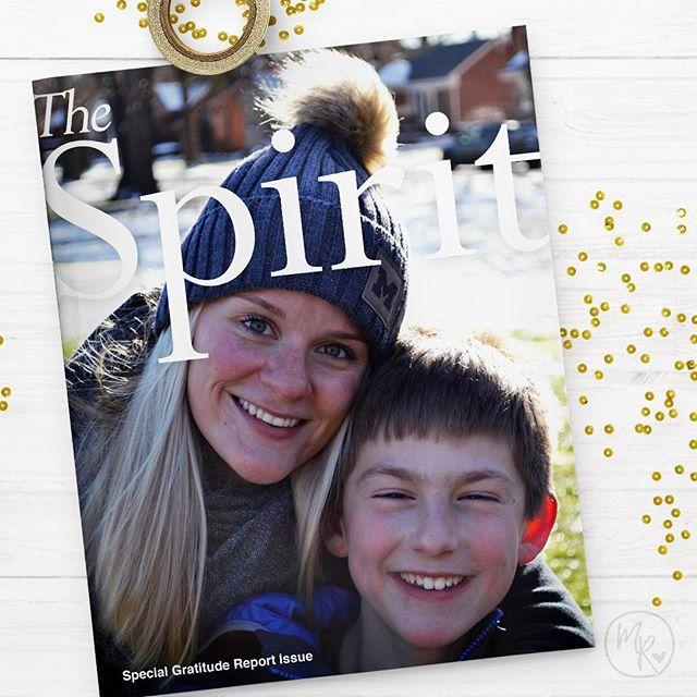 Sharing a few of my favorite things from the last part of 2018! 📚  I love working with my friends at Eton Academy, a school in Michigan that serves students who learn differently by building academic success and confidence. Their quarterly publication, The Spirit, celebrates their mission and community.  #design #print #art #marketing #instadesign  #instamarketing #graphicdesign #logo #branding  #graphicdesigner #graphic #freelancer