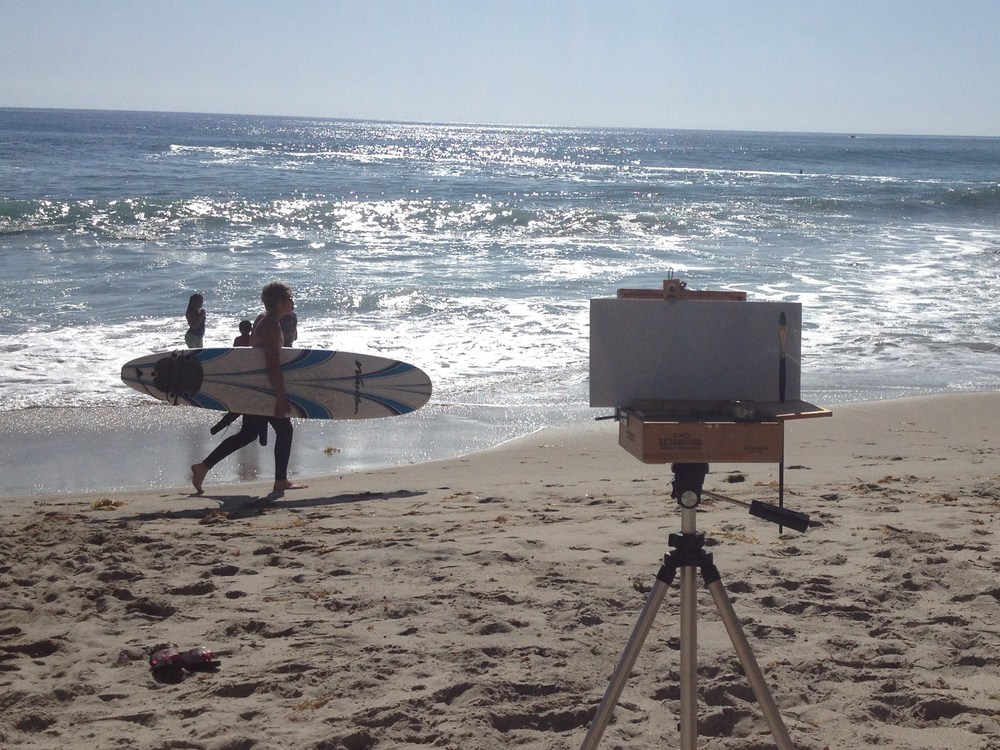 Plein Air Painting Demo: Setup