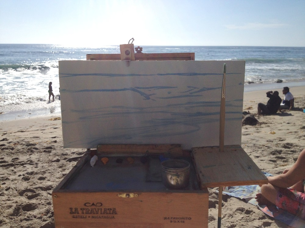 Plein Air Painting: Step Two