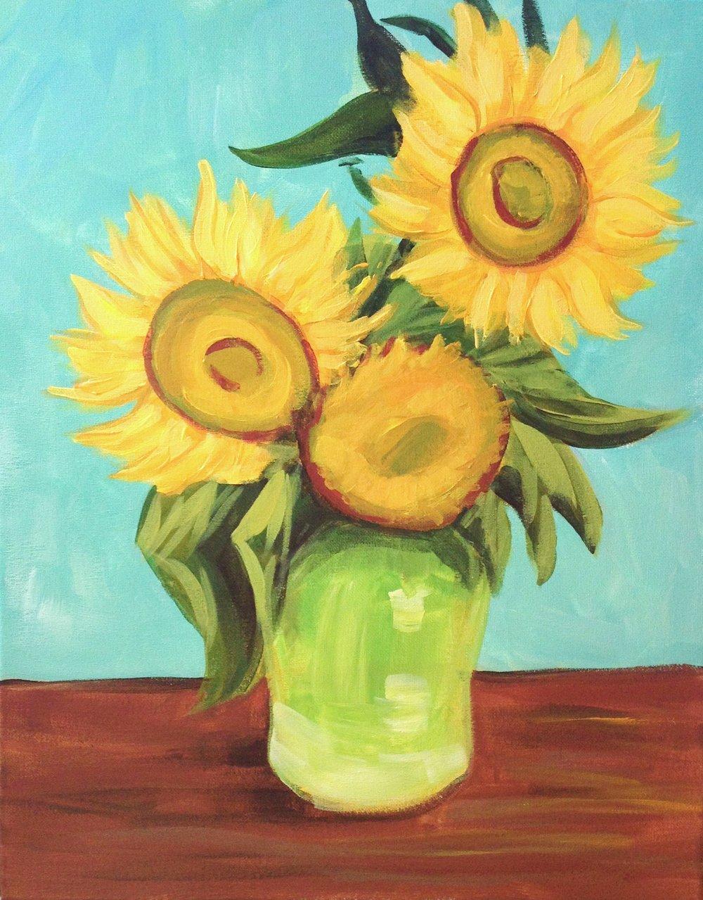 Van Gogh's Sunflowers.JPG