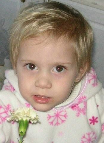 Anna Diffenderfer, Age 2, Perkiomenville, PA