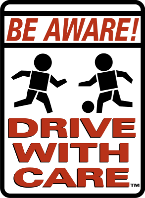 Be Aware Drive With Care Keep Kids Alive Drive 25