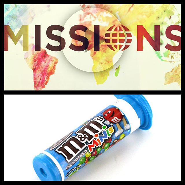 What do mini M&Ms have to do with missions?! And how can we help others out? Come join us tonight at Awana to find out. And if you didn't get your Grand Prix car yet, you can buy it tonight. #awana