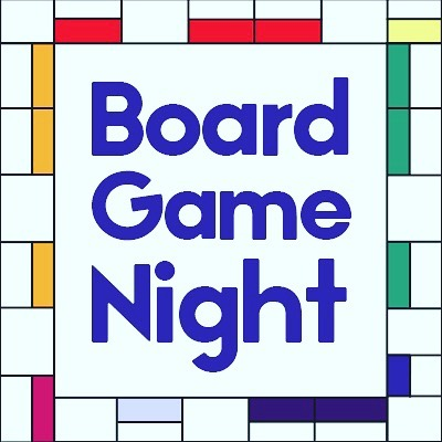 Bring your favorite board game tonight and play with all your friends! 7:00-8:15