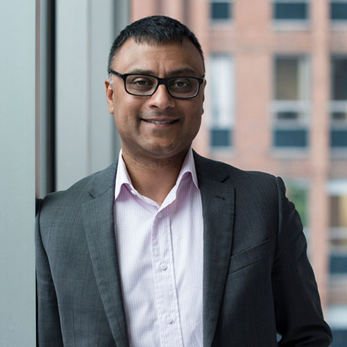 Andrew Chunilall, CEO of Community Foundations of Canada