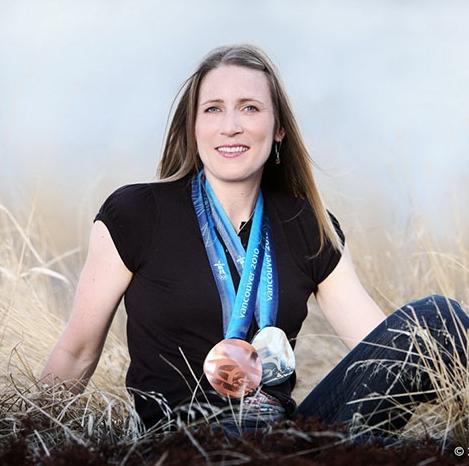 Kristina Groves, entrepreneur, speaker & multiple Olympic speed skating medallist