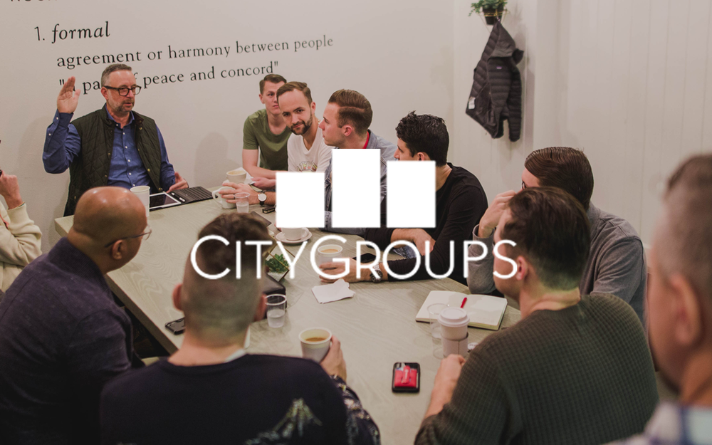 SIGN UP FOR A CITY GROUP
