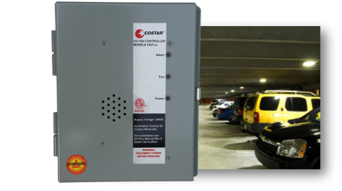 Costar 24 VC-e carbon monoxide ventilation control for parking garages