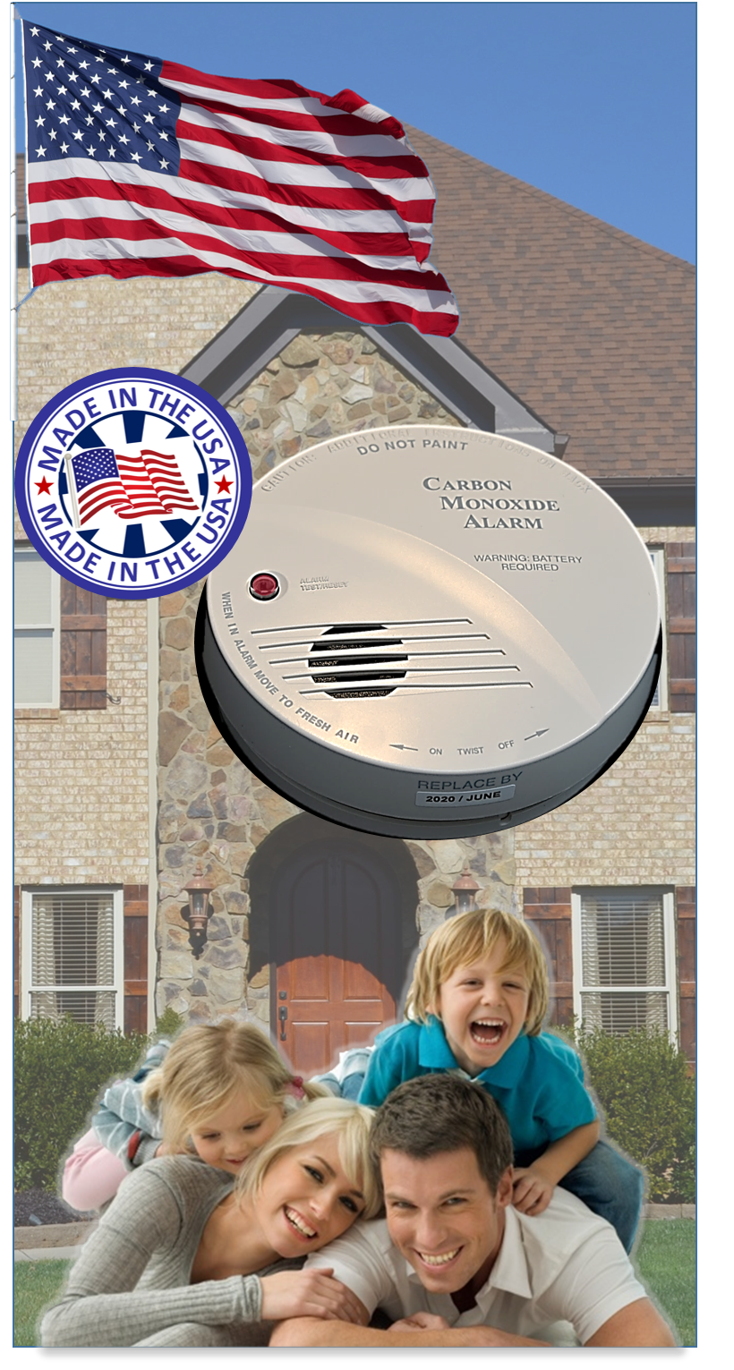 2015 Holidays Special for BIOLOGIX Carbon Monoxide Alarm Made in USA