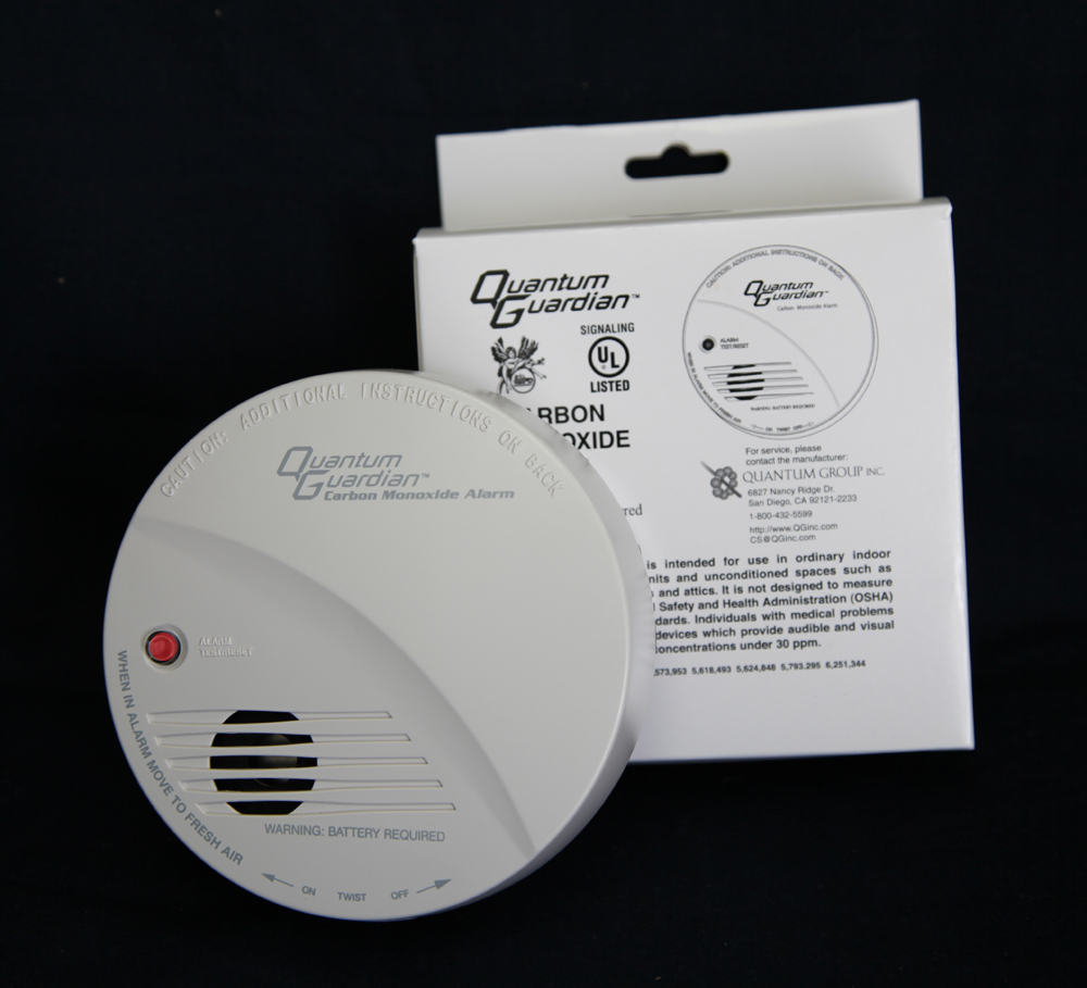 Quantum Guardian® QG-100 Carbon Monoxide RV and Home Detector