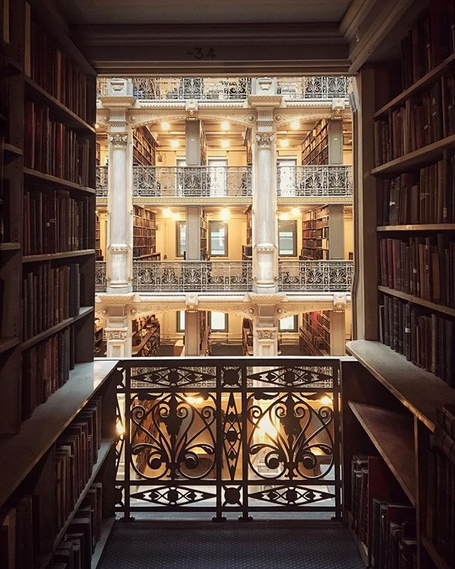 George Peabody Library. Baltimore, MD.