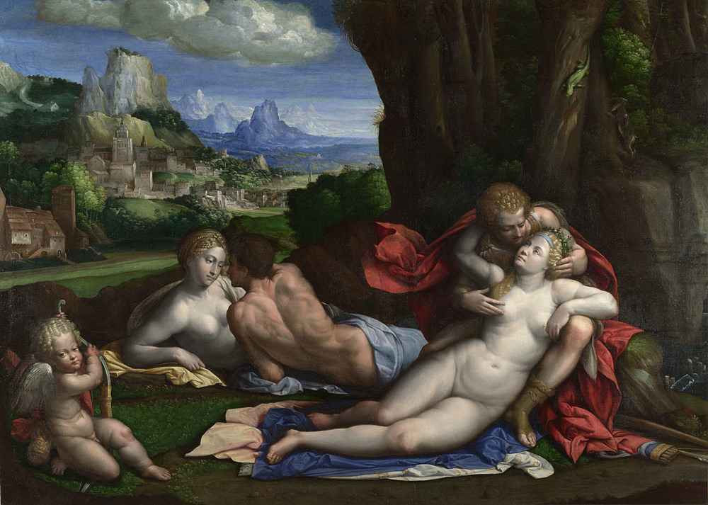 Garofalo. An Allegory of Love. 1527-39 © The National Gallery, London