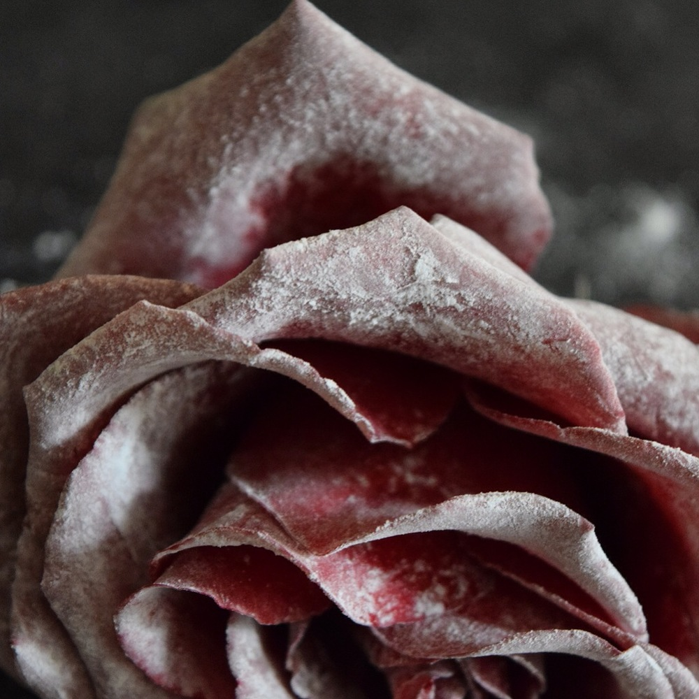 Sugar dusted roses by AVM Curiosities