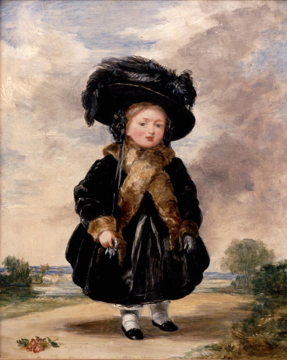 Princess Victoria aged Four - Stephen Poyntz Denning - 1823 .jpg