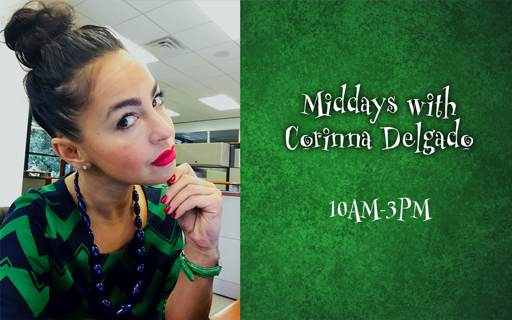 Middays with Corinna 10am - 3pm