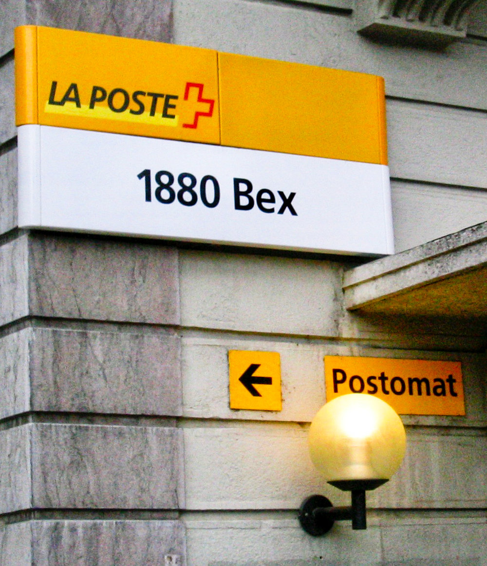 Town of Bex, Post Office, CH
