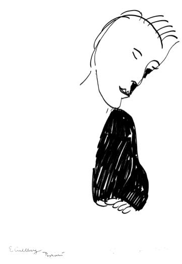 konstnär: Erland Cullberg    titel: Psykiatern