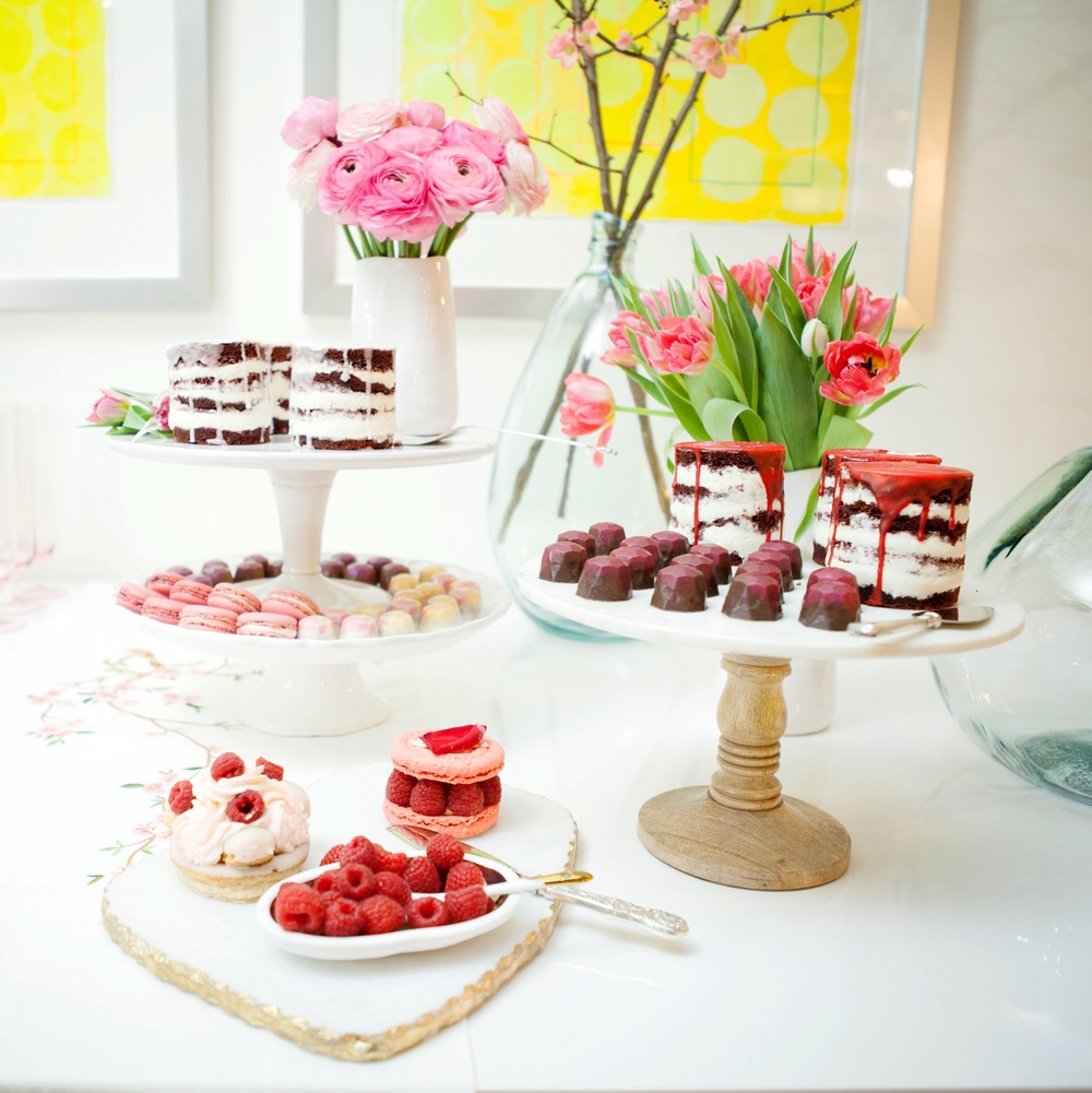 The delicious selection from my Valentine's Day shoot.