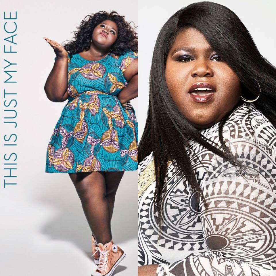 THIS IS JUST MY FACE: TRY NOT TO STARE - Gabourey Sidibe — Carla  Bruce-Eddings