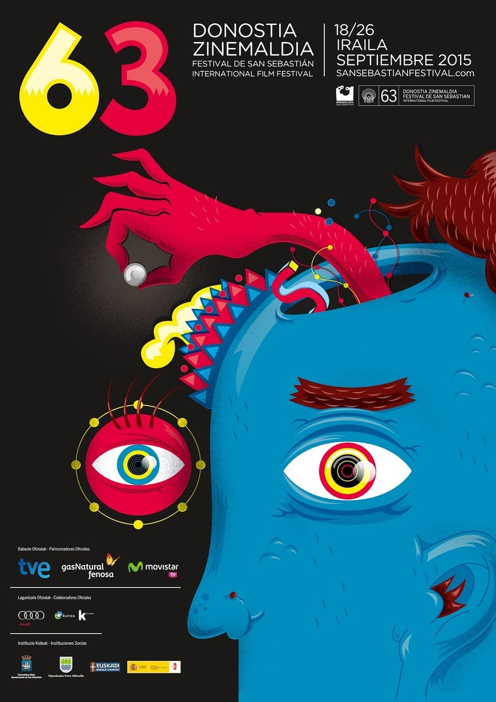 63rd San Sebastian International Film Festival - Official Festival Poster
