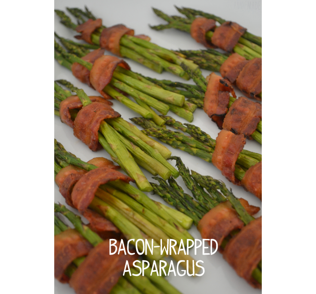 anniemade Bacon Wrapped Asparagus - Easy Recipe