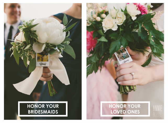 anniemade Polaroid Bouquet Pins - available in the shop
