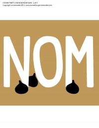 anniemade Om Nom Nom Free Printable Sign