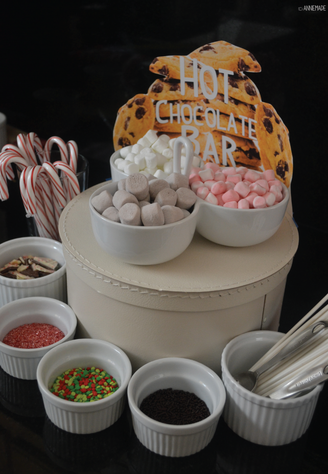 anniemade Host a Hot Chocolate Bar for a Cookie Exchange Party