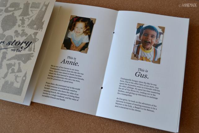 anniemade custom wedding invitations - Our Story Thus Far