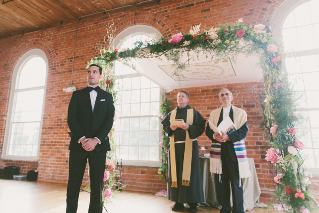 anniemade // Custom Fabric Chuppah Design (Jewish Wedding Canopy)