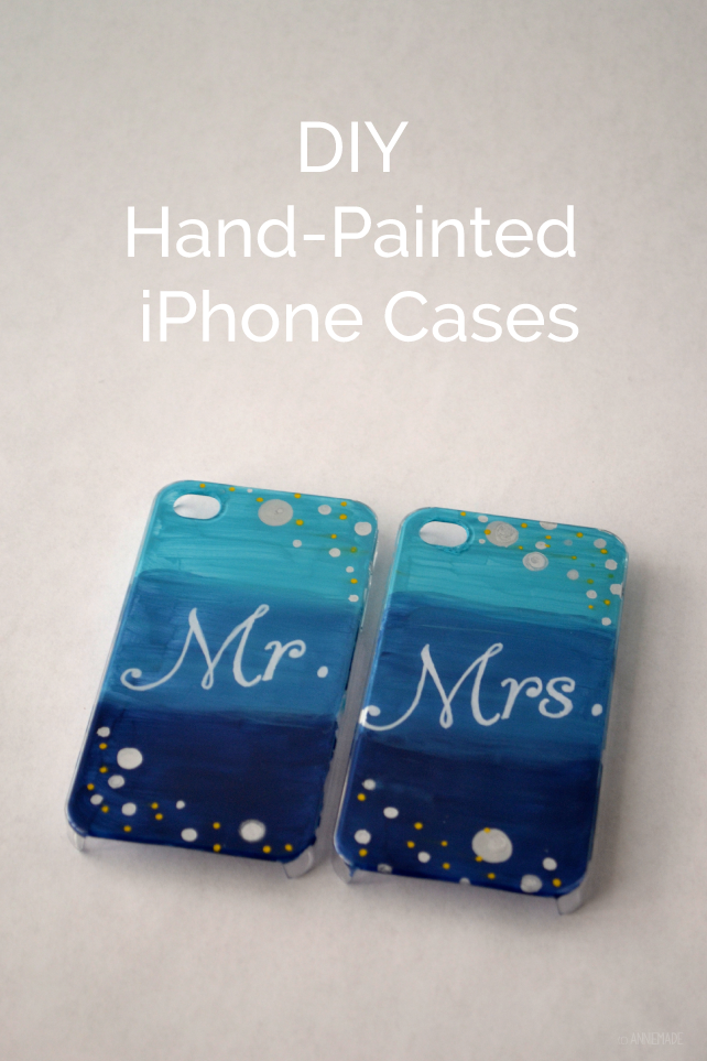 Diy Hand Painted Iphone Cases Annie Franceschi Branding