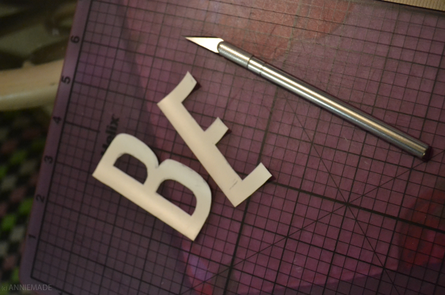 anniemade // DIY Typography Dresser Makeover