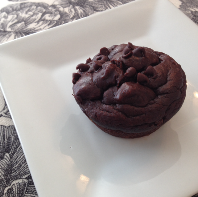 Chocolate Chocolate Chip Muffins - Grain free, Gluten free, Goodness full! Super easy recipe