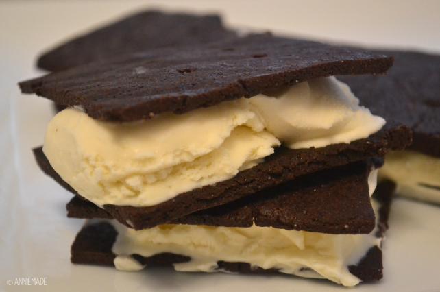 anniemade // Gluten-Free Homemade Ice Cream Sandwiches Recipe