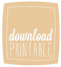 Free Printable - Free Printable - DIY Anniversary Photo ProjectHonorary Bridesmaid Card