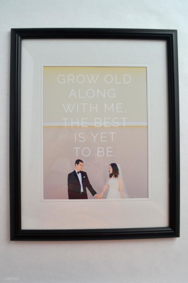 anniemade // Custom Anniversary Art Print