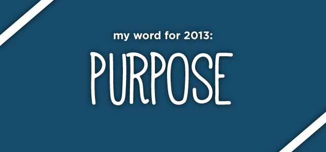 anniemade // Do you have a word for 2013?