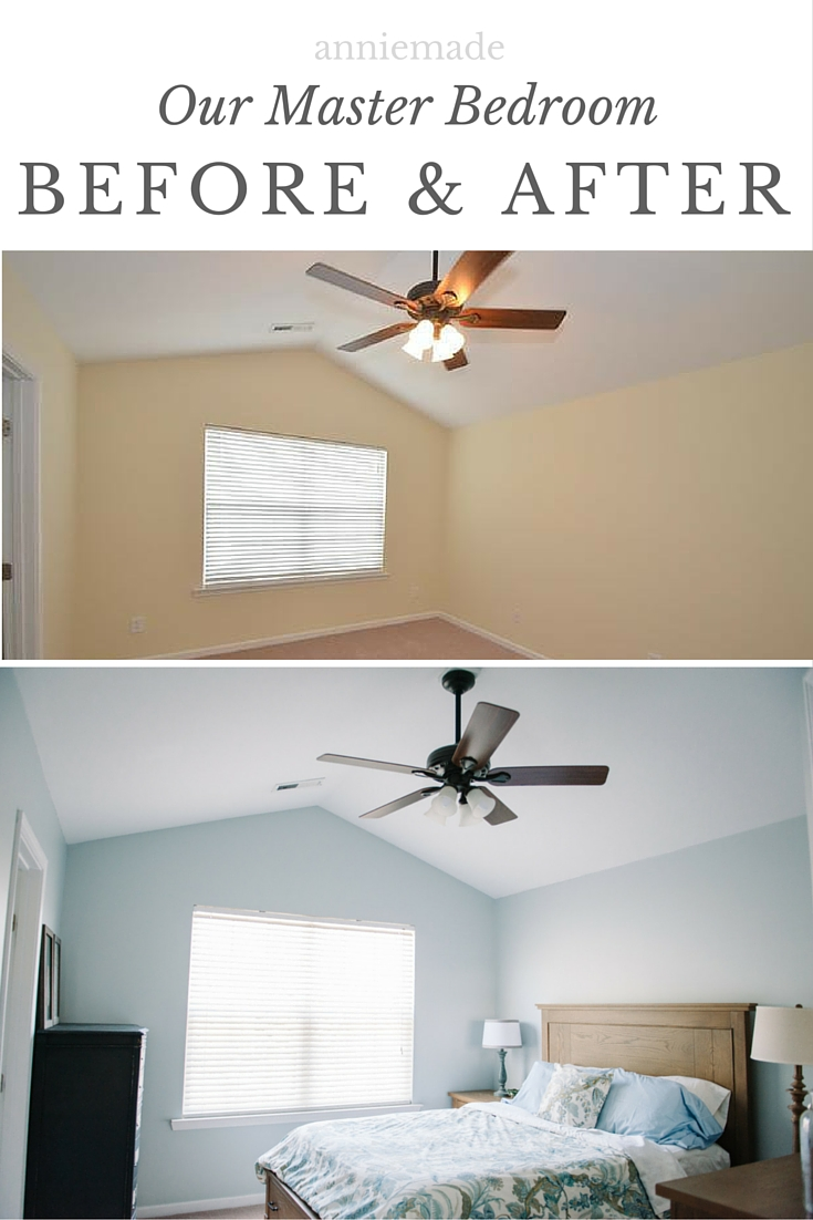 anniemade | How we transformed our master bedroom with a little bit of love and a whole lotta Lowe's.