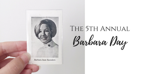 5th Annual Barbara Day in memory of Barbara Jean Saunders | Annie Franceschi Blog