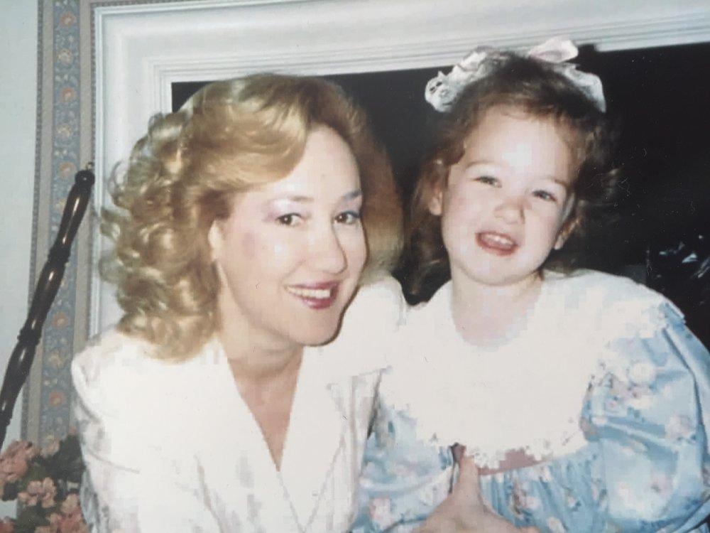 Me and Mom | Annie Franceschi Blog