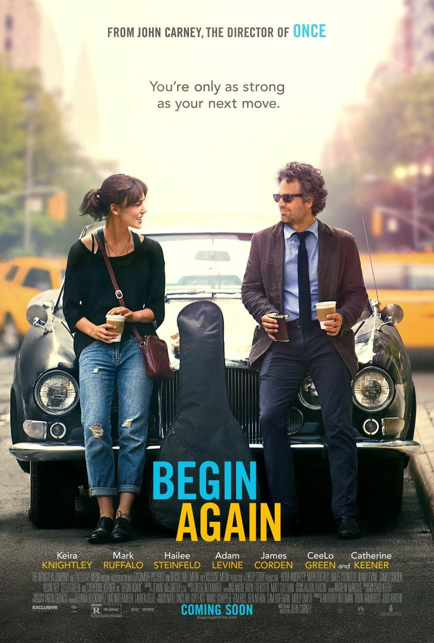 BEGIN AGAIN (2013) Dir. John Carney