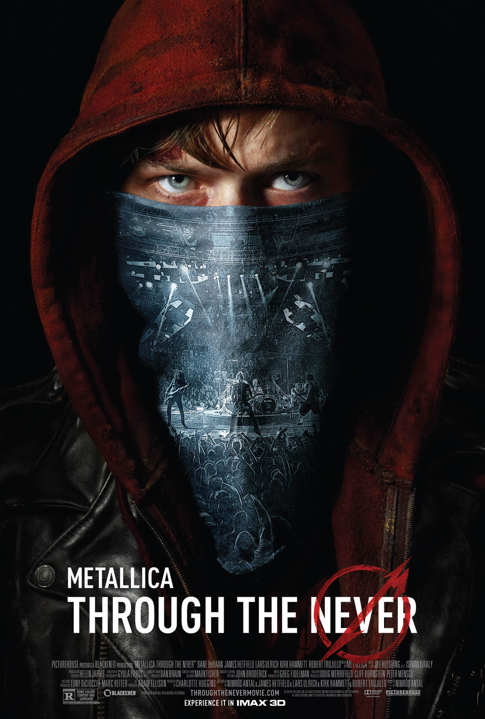 METALLICA THROUGH THE NEVER (2013) Dir. Nimród Antal