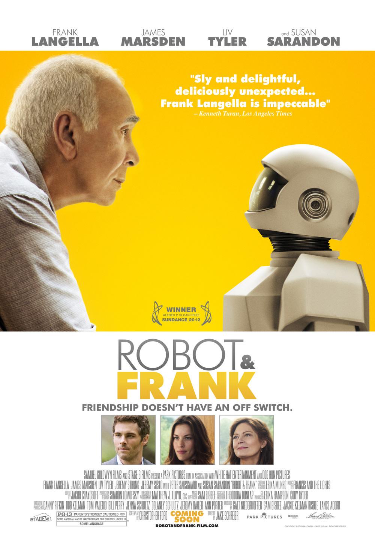 ROBOT & FRANK  (2012)  Dir. Jake Schreier