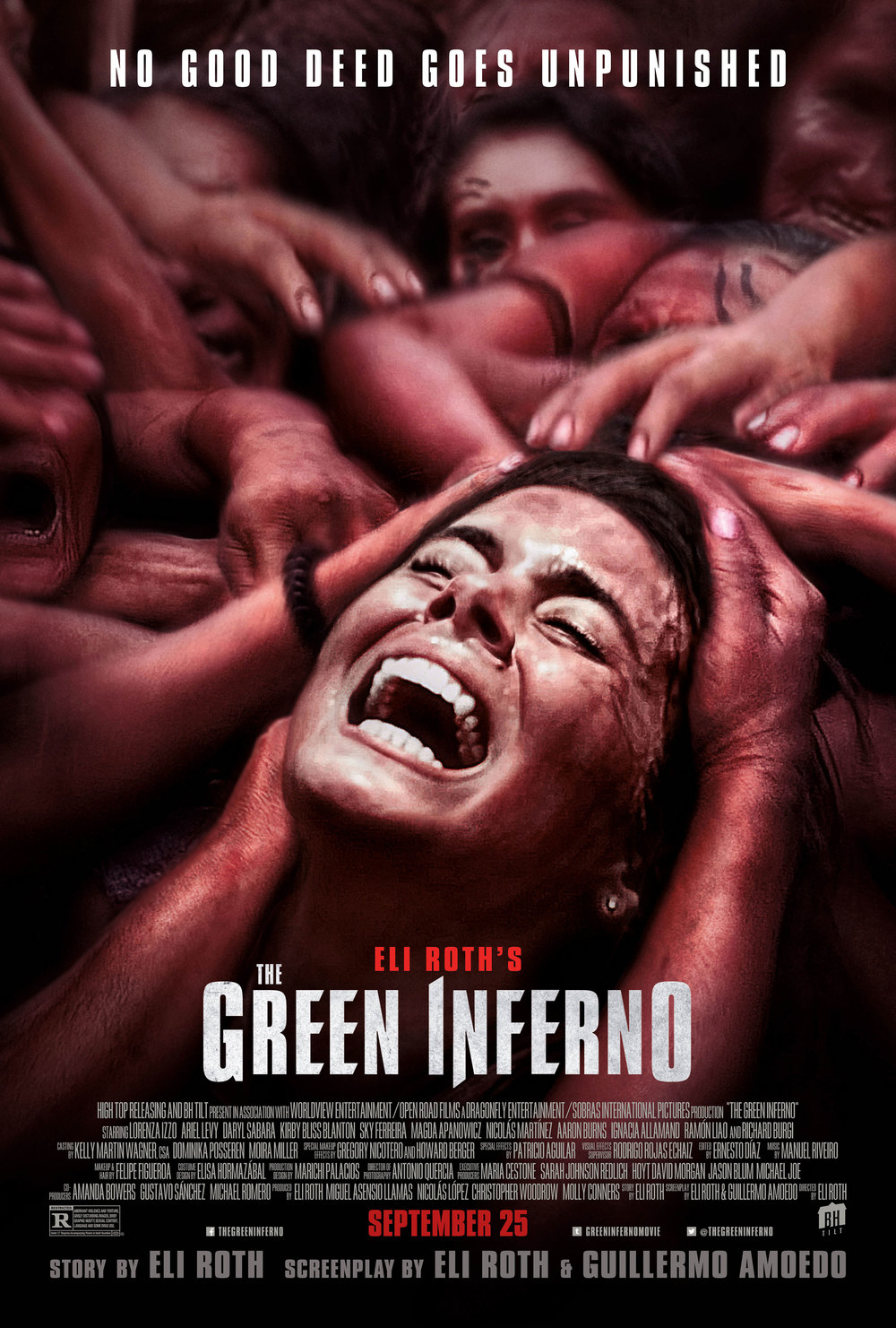 THE GREEN INFERNO (2015) Dir. Eli Roth