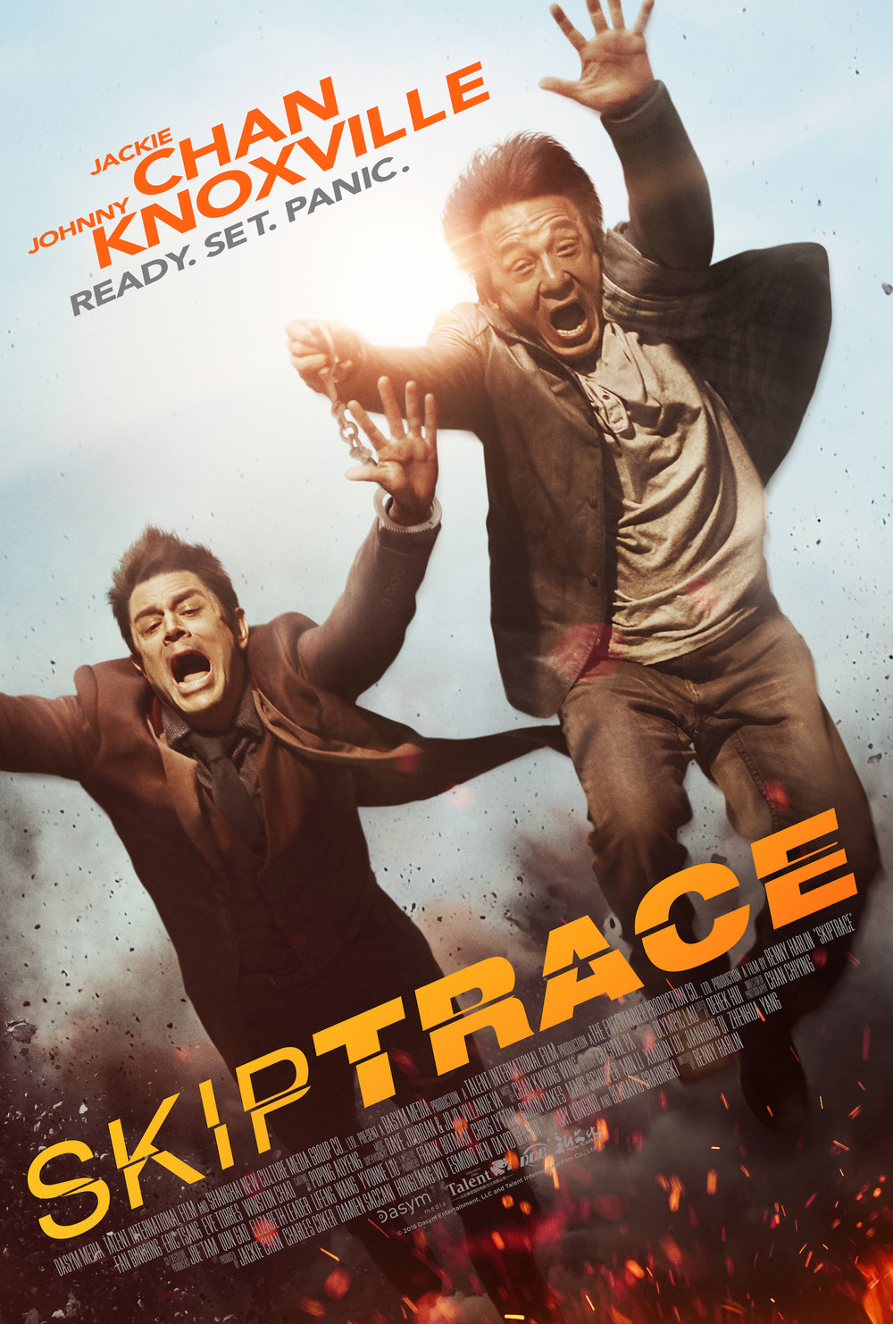 SKIPTRACE  (2014)  Dir. Renny Harlin