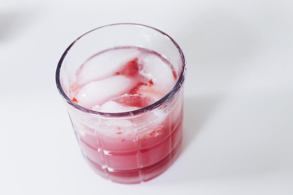 DRINK: strawberry lemonade cocktail  -Revamp, Amor