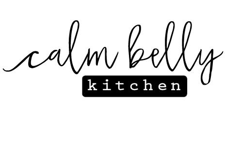 Calm Belly Kitchen Logo