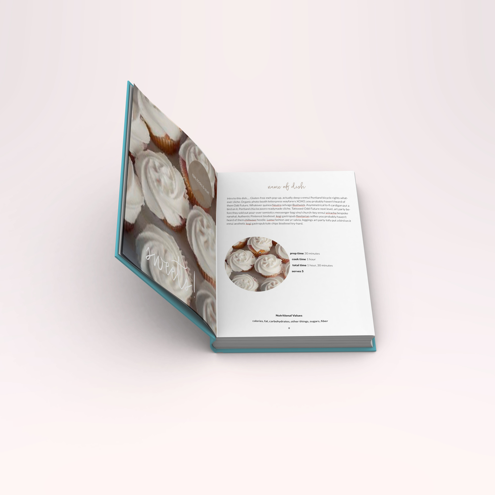 Cooking eBook Template