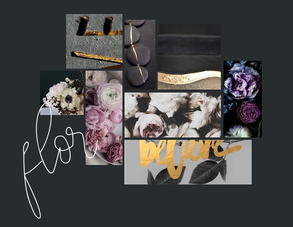 FLOR mood board - Revamp Design Studio