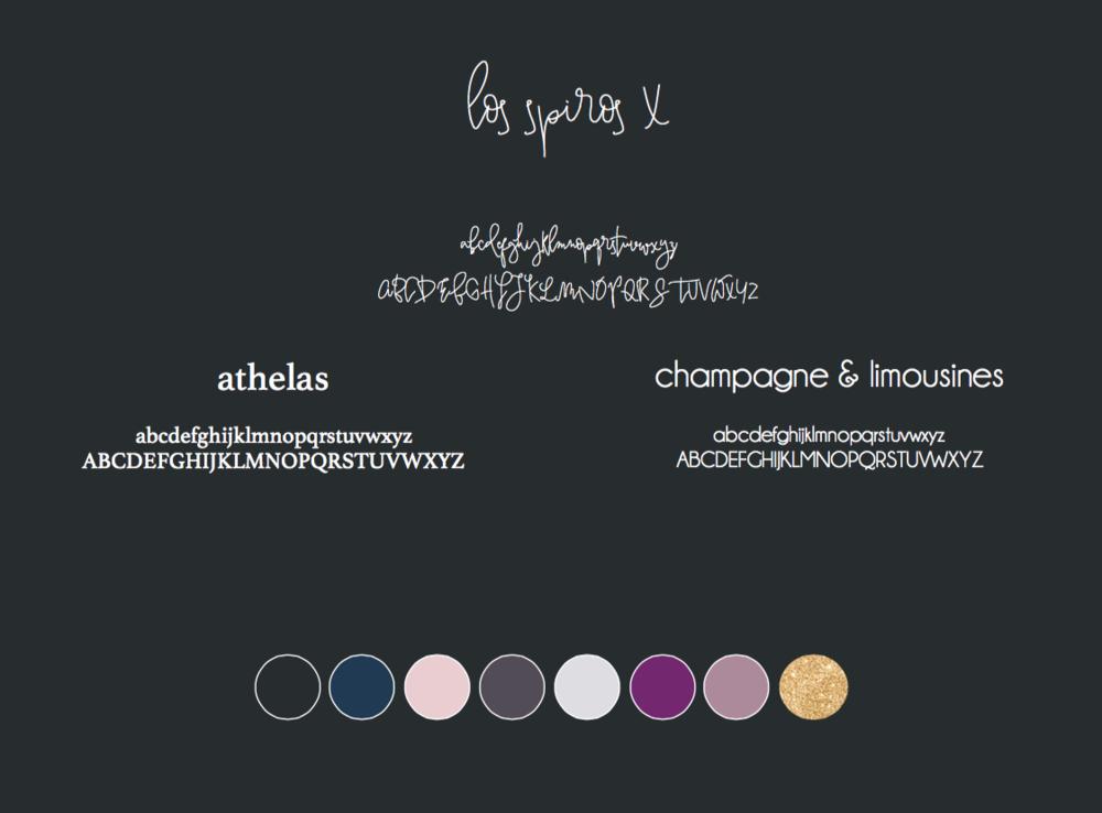 FLOR typography & color  -Revamp Design Studio